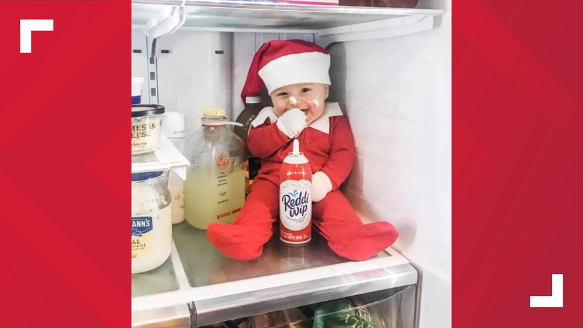 East Tennessee baby acts like real-life Elf on the Shelf | wbir.com