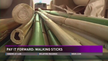 Pay it Forward: Walking sticks