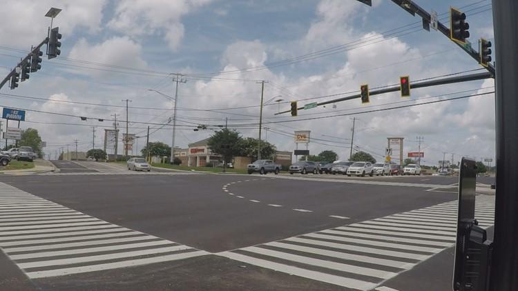 Clinton Highway, Merchant Drive construction project