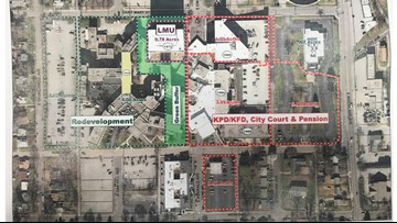 City of Knoxville hopes to start construction of KPD/KFD HQ at old St. Mary's hospital next spring