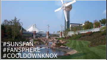 Knoxville man starts petition to turn Sunsphere into giant fan to beat summer heat