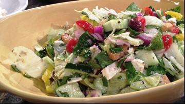 Spring Greek Salad