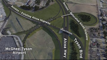 McGhee Tyson sells land to state for Alcoa Highway relocation