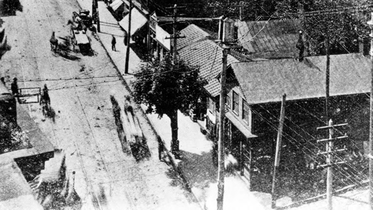 Gay Street Knoxville 1920 Lone Tree Cal Johnson