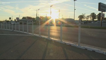 Driving You Crazy: Barrier on Kingston Pike