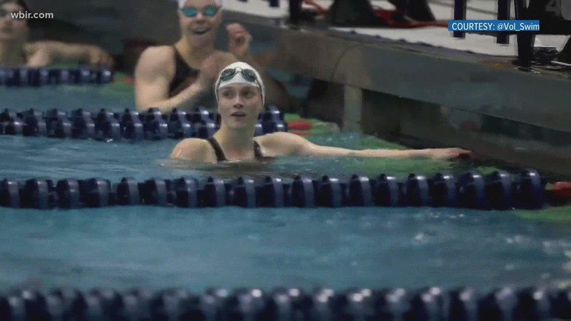 Lady Vol Erika Brown qualifies in swimming trial and is headed to Tokyo Olympics