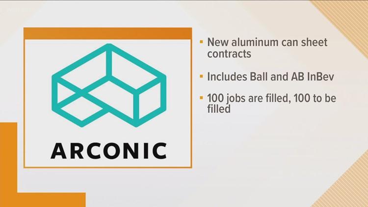 Arconic adding jobs to Alcoa plant