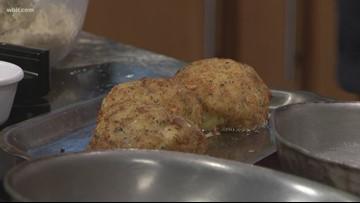 In the kitchen: Italian pasta pesto bombs