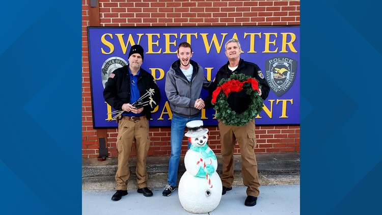 Brent Miller with Sweetwater Police