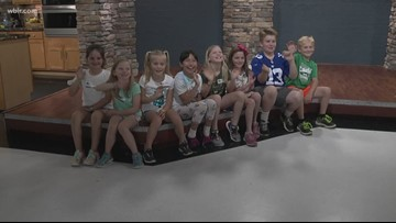 A moment with students from Sequoyah Elementary in the studio...