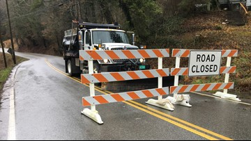 One lane of SR 116 in Anderson Co. opened after landslide; SR 66 is reopened after repairs