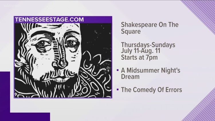 Shakespeare on the Square opens for the season on July 11