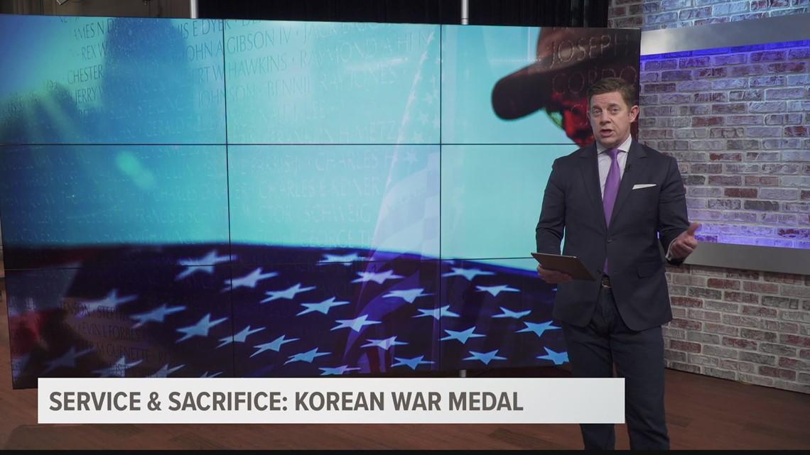 Service & Sacrifice: Korean War Medal