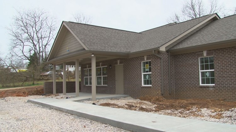 This Sertoma duplex will house people with special needs
