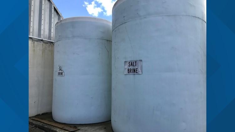 TDOT Salt Brine Storage Containers