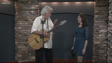 Country legend Gary Morris visits East Tennessee
