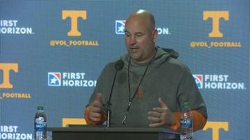 Jeremy Pruitt discusses Tennessee's quarterback battle
