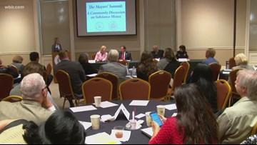 Mayors host summit on drug addiction