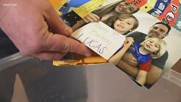 Cards for lucas: big response