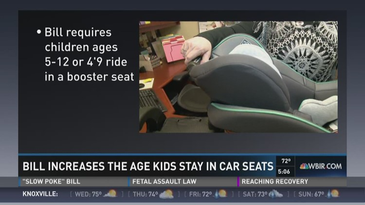 New TN Bill Means Kids Would Stay In Car Seats Longer