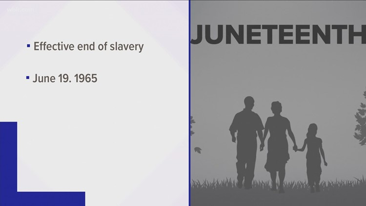 Juneteenth events scheduled ahead of holiday across East Tennessee