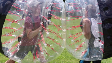 Knockerball in Knoxville: What you need to know about tumbling around in a giant, inflatable bubble