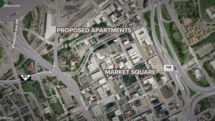 Request for proposed Downtown apartments