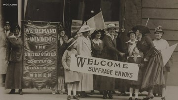 100 years later: Tennessee's role in women's suffrage