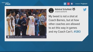 Everyone relax about Admiral Schofield's tweet