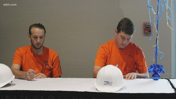 Blount County high school students participate in Signing Day