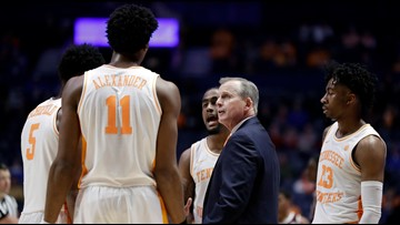 Tennessee is No. 2 seed in NCAA tournament, will play Colgate