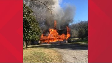 Faulty propane heater causes home explosion in Union County, severely injures homeowner