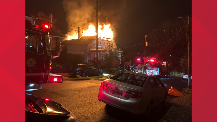 North Broadway Fire