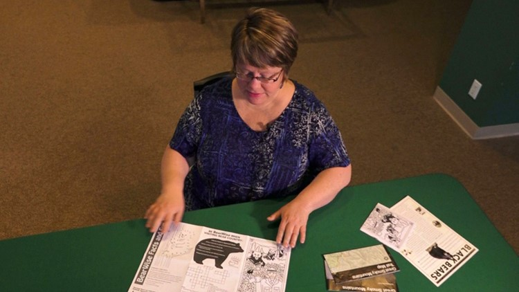 Tracy Kramer National Parks Conservation Association NPCA Bearwise Placemat Bears