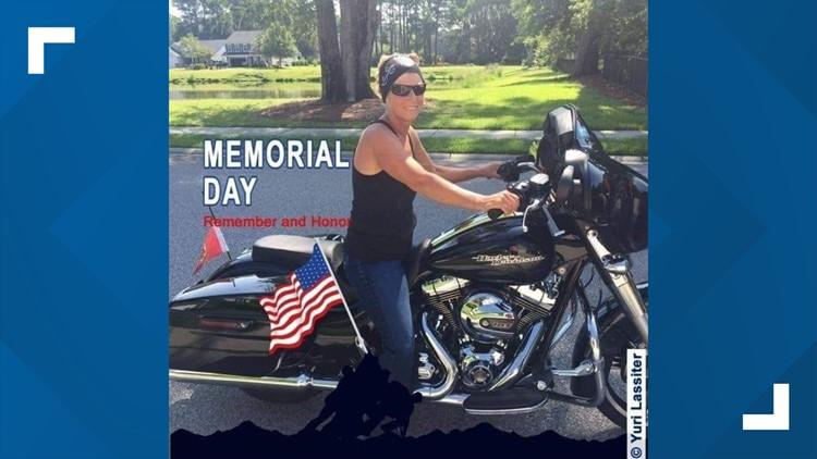 Cheryl Zeglen Motorcycle