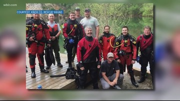 Underwater dive teams 'do everything by feel' while working rescues and recoveries