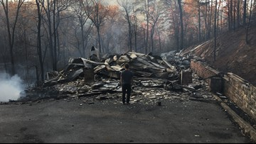 'Rising from the Ashes' | UT library begins project to document Gatlinburg wildfire experiences