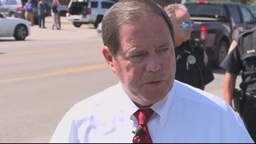 KCSO Sheriff Tom Spangler gives 11:30 a.m. update on hard lockdown at Powell High School
