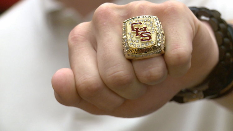 Central Bobcats celebrate state title with Ring Ceremony