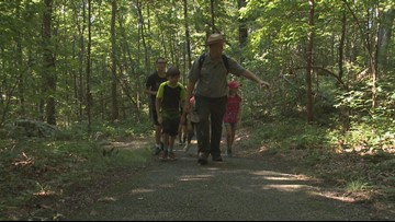 Boys & Girls club visits the Smoky Mountains