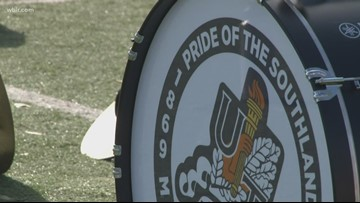 Pride of the Southland alumni join band for Homecoming
