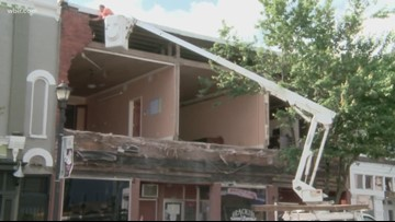 Brackins Blues Club reopens after brick facade collapses