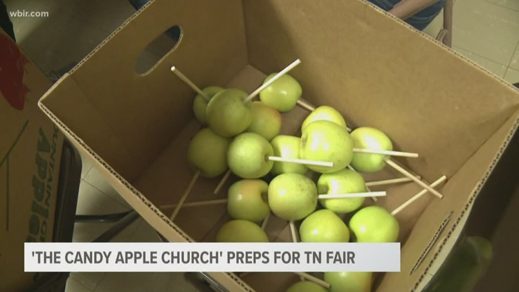 The 'Candy Apple Church' preps for Tennessee Valley Fair