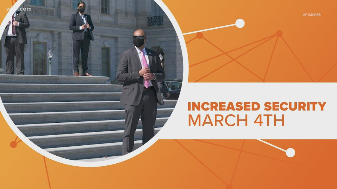 Connect the Dots: Increased security at Capitol on March 4