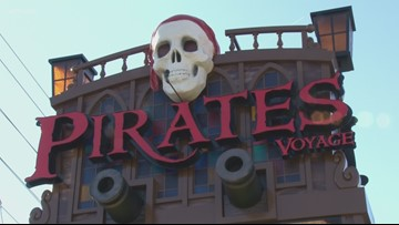 Ahoy! Dolly Parton opens new Pirates Voyage Dinner and Show in Pigeon Forge