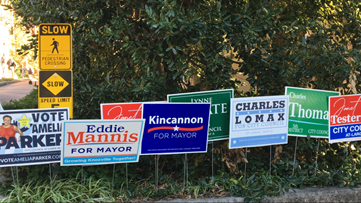 Polls close in Knoxville, election results coming in