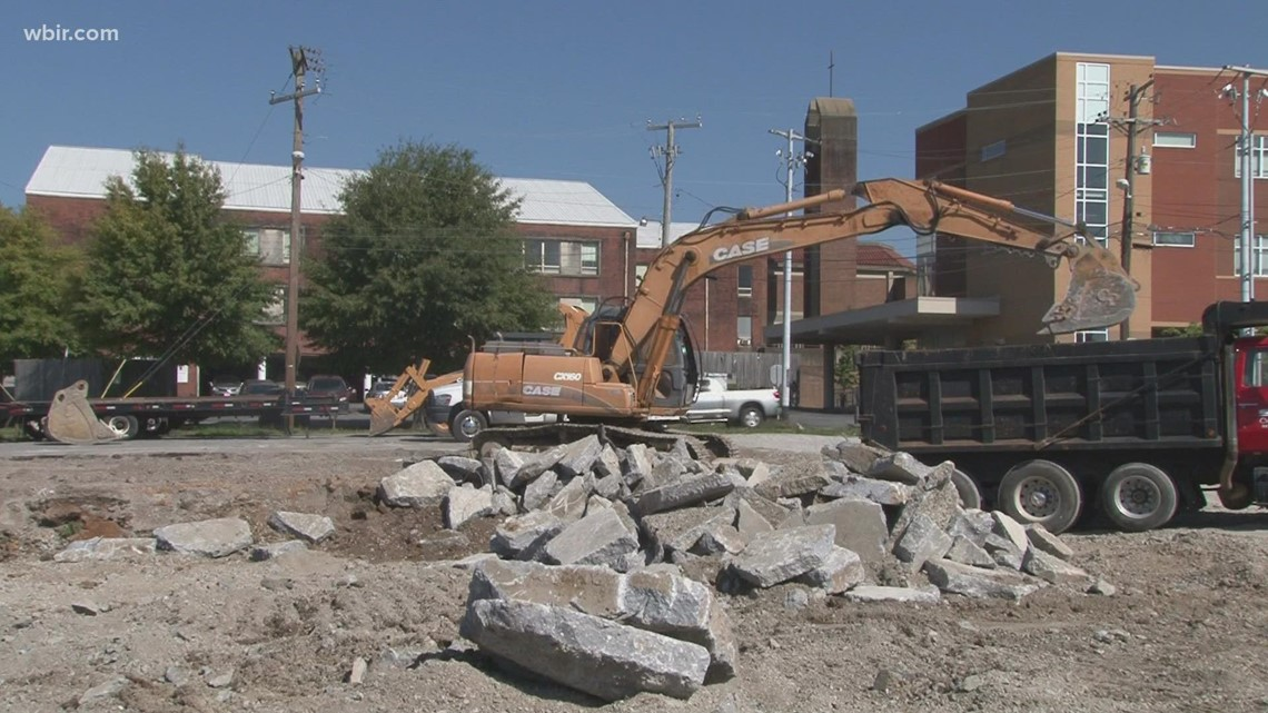 Construction underway on new Yee-Haw Brewing building on Broadway