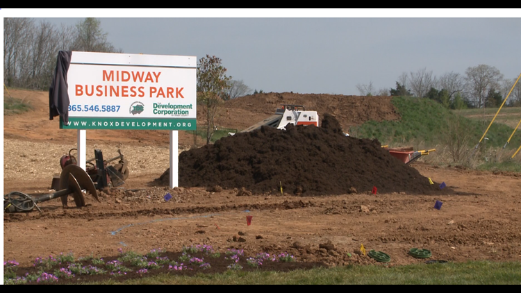 Midway Business Park opening celebrated