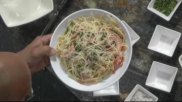 In the kitchen: Shrimp Scampi Linguini