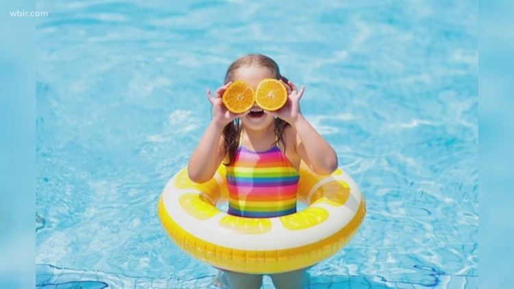 Why the color of your child's swimsuit is important